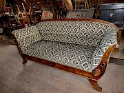 Original Biedermeier Sofa, restauriert